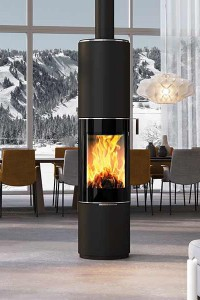 estufas attika comercial esteller sl chimeneas y estufas estufas estufas de le a. Black Bedroom Furniture Sets. Home Design Ideas
